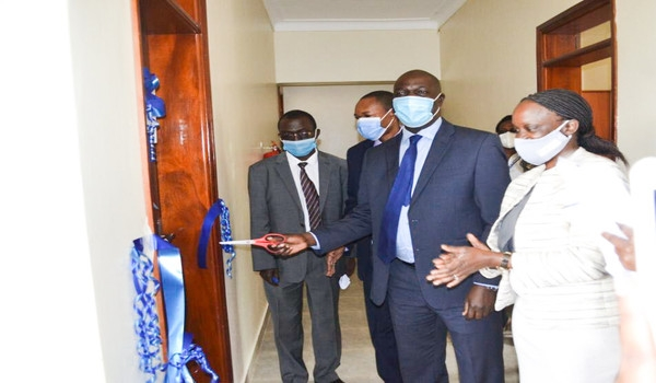 IOFFICE OF THE DIRECTOR OF PUBLIC PROSECUTIONS LAUNCHES CHILD FRIENDLY ROOMS IN KABALE, MBARARA AND MASAKA